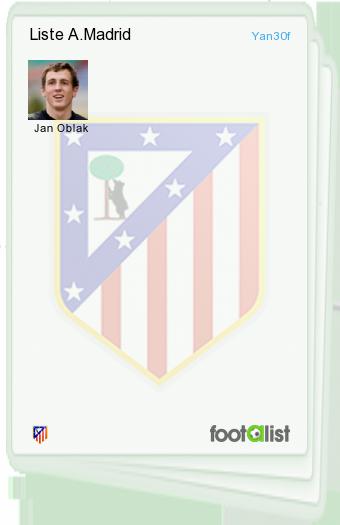 Liste A.Madrid