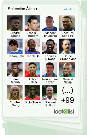 Selección África