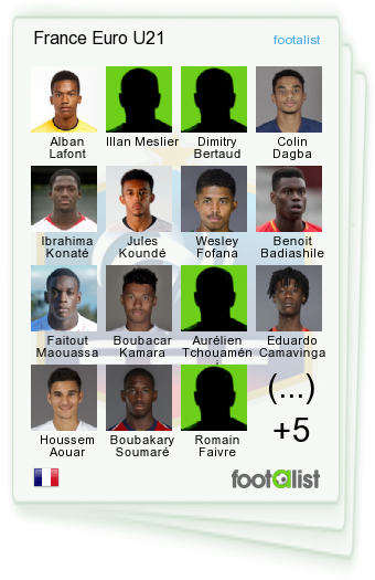 France Euro U21
